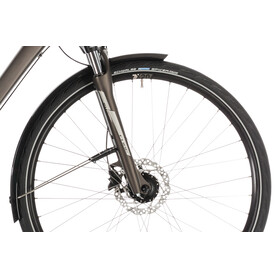 Cube Touring Pro Bicicletta da trekking grigio/marrone